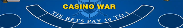 How To Play Casino War Online