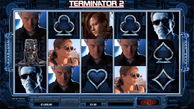 Play Terminator 2 Slot at Casino Action Now